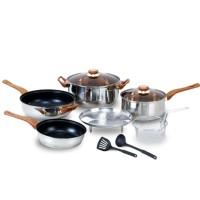 Oxone Panci Stainless Steel/Basic Cookware Set OX-911 (Basic)