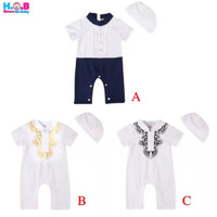 Koko Jumper Set / jumper koko anak bayi lucu / baju muslim bayi lucu