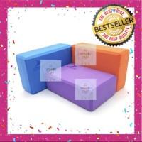 Yoga Block Yoga Brick Pilates Block Balok Yoga Foam Import ! - Warna Acak
