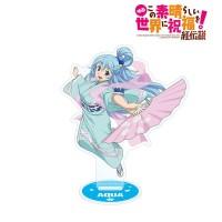 Movie KonoSuba Kurenai Densetsu Aqua Acrylic Stand New Illustration