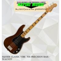 Squier Classic Vibe `70s Precision Bass - Walnut