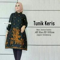 blous batik atasan wanita baju batik wanita motif keris