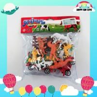 Animal New Set / Mainan Set Figurine Binatang Ternak