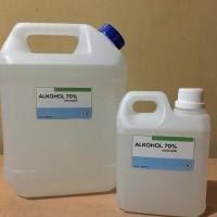 alkohol 70% 1 liter cocok untuk hand sanitizer dan antiseptic