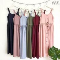 overall maxi dress baju muslim wanita maxy jumper rok kodok baju unik