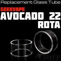 Glass Tube Avocado 22 RDTA tabung kaca avocado RDTA 22 kaca avocado 22