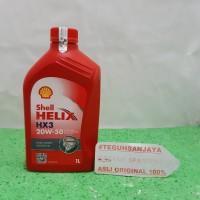 Oli Shell Helix HX3 20W-50 4T API SL/CF 1 Liter / 1000 ML