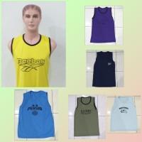 Baju Kaos Basket Gym Warna Dewasa / Singlet / Baju Santai Tidur Adem