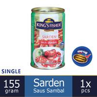 King's Fisher Sarden mini saus sambal Makanan Kaleng 155g kings fisher