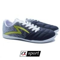 Sepatu Futsal SPECS EQUINOX IN - BLACK/WHITE/GOLD [ORIGINAL]