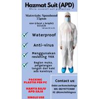 Baju APD / Alat Pelindung diri medis / Hazmat suit