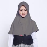 Kerudung Anak Sekolah ZOYA / Bergo / Hijab Instan Medium - CERDASMIDI