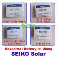 Kapasitor Battery Isi Ulang Jam Tangan Seiko Solar