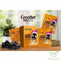 (BPOM) COCOTTEE Black Mud Face Mask   Brightening Peel Off Mask Sachet
