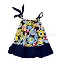 Rok bayi kutung Dress Tali Anak Bayi Perempuan Baju main anak TRS-013