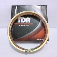 Velg Rim Jari Jari TDR Racing Ring 17 X 250 W Shape Gold