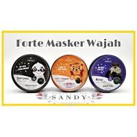 SYB FORTE ~ Animal Mask Sheet ~ Masker Collagen + Acne + Lightening