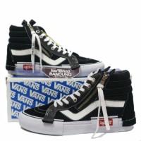 Sepatu Vans SK8 Hi CAP LX Cut And PAste Black True WHite Premium BNIB