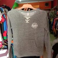 Sweater shirt crop anak Justice