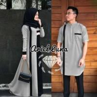 Couple Gamis kurta pakistan /Gamis ariel luna seragam baju muslim