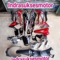 caver cover full set body motor honda supra x 125
