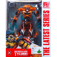 Mainan Mobil Robot Anak Action Figure Transformers - Bumblebee