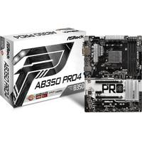 ASRock AB350 Pro 4 (AMD B350, DDR4)
