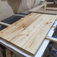 pesanan papan kayu jati belanda / kayu pinus murah