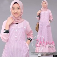Gamis Anak Zahwa Dress / Gamis Remaja Wanita / Baju Muslim Anak