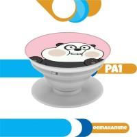 popsocket panda pop socket custom gantungan hp we bare bears