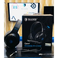 Headset Gaming Sades CPower