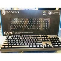 Keyboard Gaming Mechanical Sades Groza (Optical)
