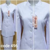 seragam perawat baju perawat seragam kesehatan baju dinas hitam putih