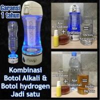 Trifinity botol hidrogen air hydrogen alkali kangen water alkaline