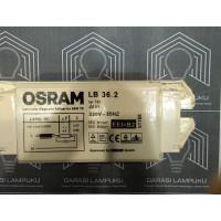 Ballast Magnetic Lampu T8 TL 36 Watt Low Loss Ballas Magnetik - Osram