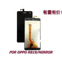 Lcd Touchscreen Oppo R819 - Mirror - Lcd Ts - Tc Black