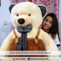BONEKA BERUANG TEDDY BEAR JOJON 1,2 METER SUPER JUMBO