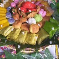 Best Product Kue Basah Jajanan Pasar Kue Tampah 60Pcs Bulet Uk 20 Cm