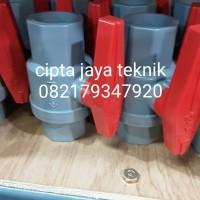 stop kran ball valve pvc socket aw 1 inch