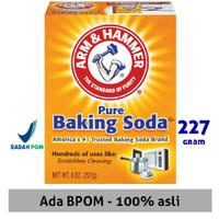 Baking Soda Asli USA Merk Arm & Hammer Baking Soda 226Gr