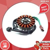 Original !!!!!!! Spare Part Motor Honda Stator Comp ( Spull ) Beat Esp