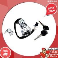 Original !!!!!!! Spare Part Motor Honda Kunci Kontak Key Set Beat Pop