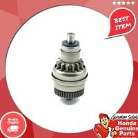 Original !!!!!!! Spare Part Motor Honda Pinion Assy Start Beat Fi