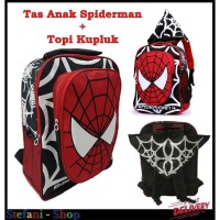 Tas Sekolah - Tas Anak Laki-Laki Spiderman Backpack