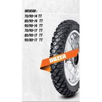 BAN LUAR FDR BEBEK TUBE TYPE RING 17 DOZER 70 90-17 HONDA YAMAHA SUZUK