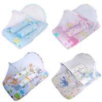 Kasur Kelambu Bayi Lipat Tenda Set Tempat Tidur Bayi FREE BANTAL KS01