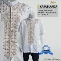Baju Koko Putih, Baku koko lengan Pendek Kasablanca