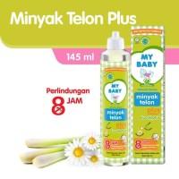 My Baby Minyak Telon Plus Eucalyptus 145ml - Minyak Telon My Baby
