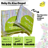 Grosir Baby OZ Alas Ompol Insert Clodi