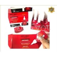 Tip Ex Correction fluid pen penghapus pulpen cair merah Joy Art